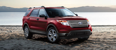 2013 Ford Explorer Red