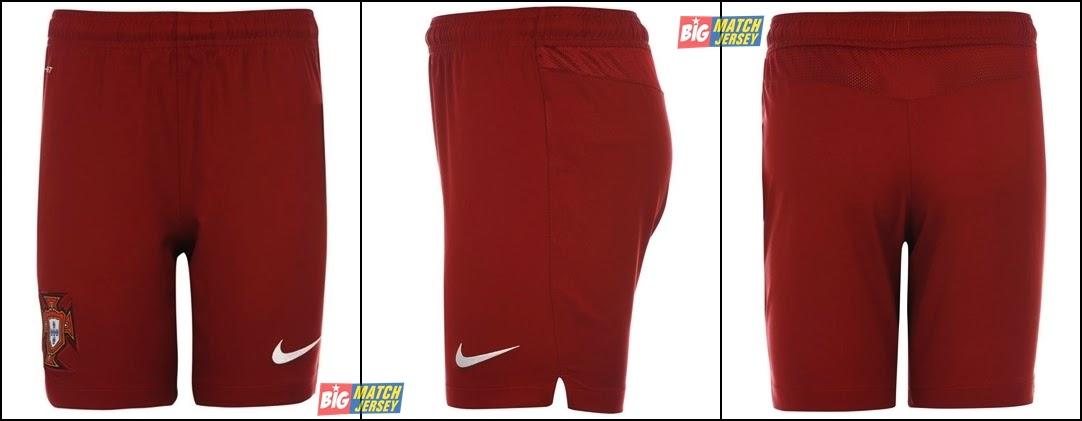 jual celana bola - Grosir Jersey Bola Grade Ori Portugal Home Merah Maroon