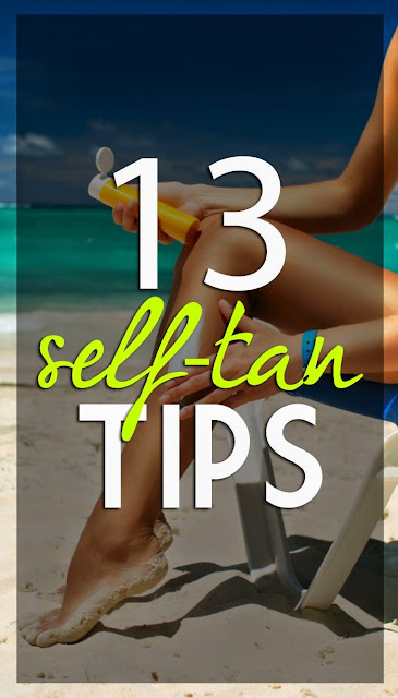 13 Self Tanning Tips
