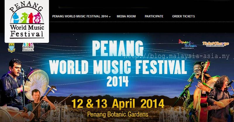 Penang World Music Festival PWMF 2014