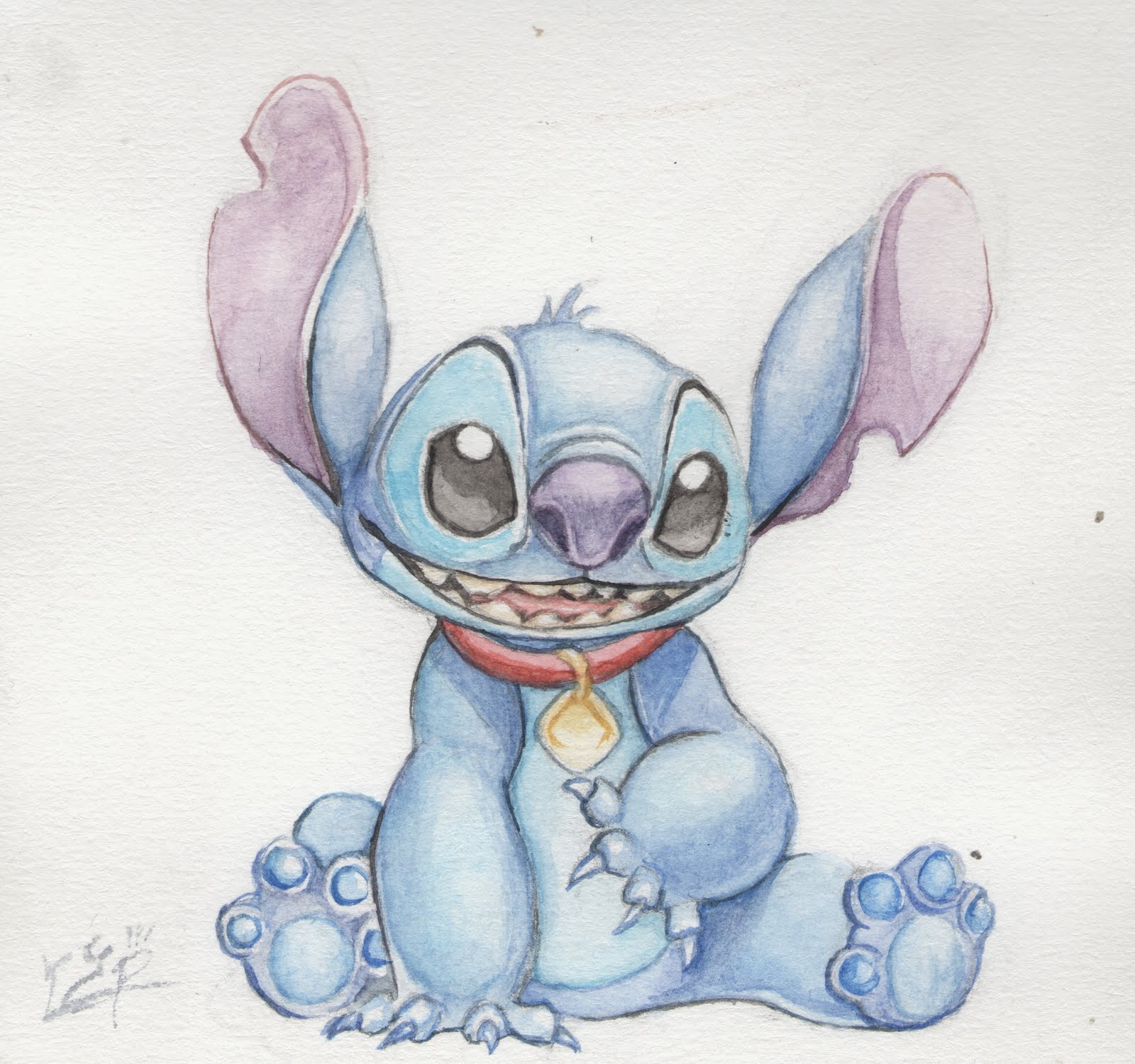 Little j art stitch - Dessin de stitch ...