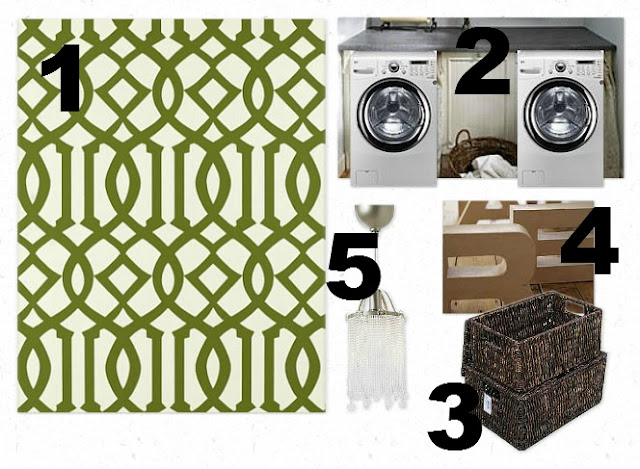 The Shabby Nest: Laundry Room Mood Board