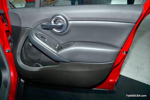 Fiat 500X Front Door Panel