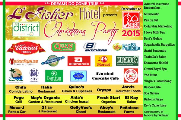 NBSI Christmas Party sponsors