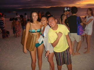 Georgina Wilson Bikini Pictures in Boracay
