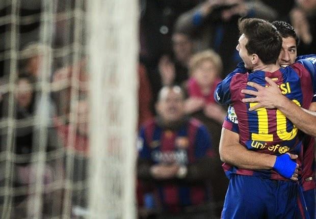 Copa del Rey : Barcelona 3-1 Villarreal