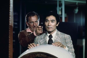 Jack Klugman and Robert Ito in Quincy, ME