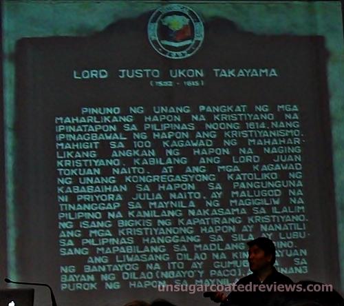 Lord Justo Ukon Takayama