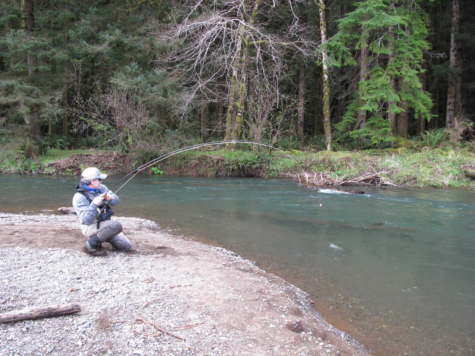 Boston fly fishing and report big water small creeks for Small creek fishing