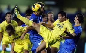 Getafe vs Villarreal en partido de vuelta, cuartos de final, Copa del Rey
