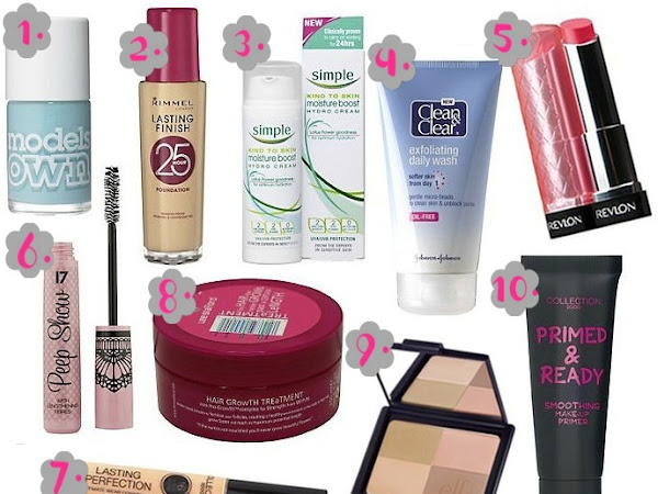 10 Beauty Products Under £10