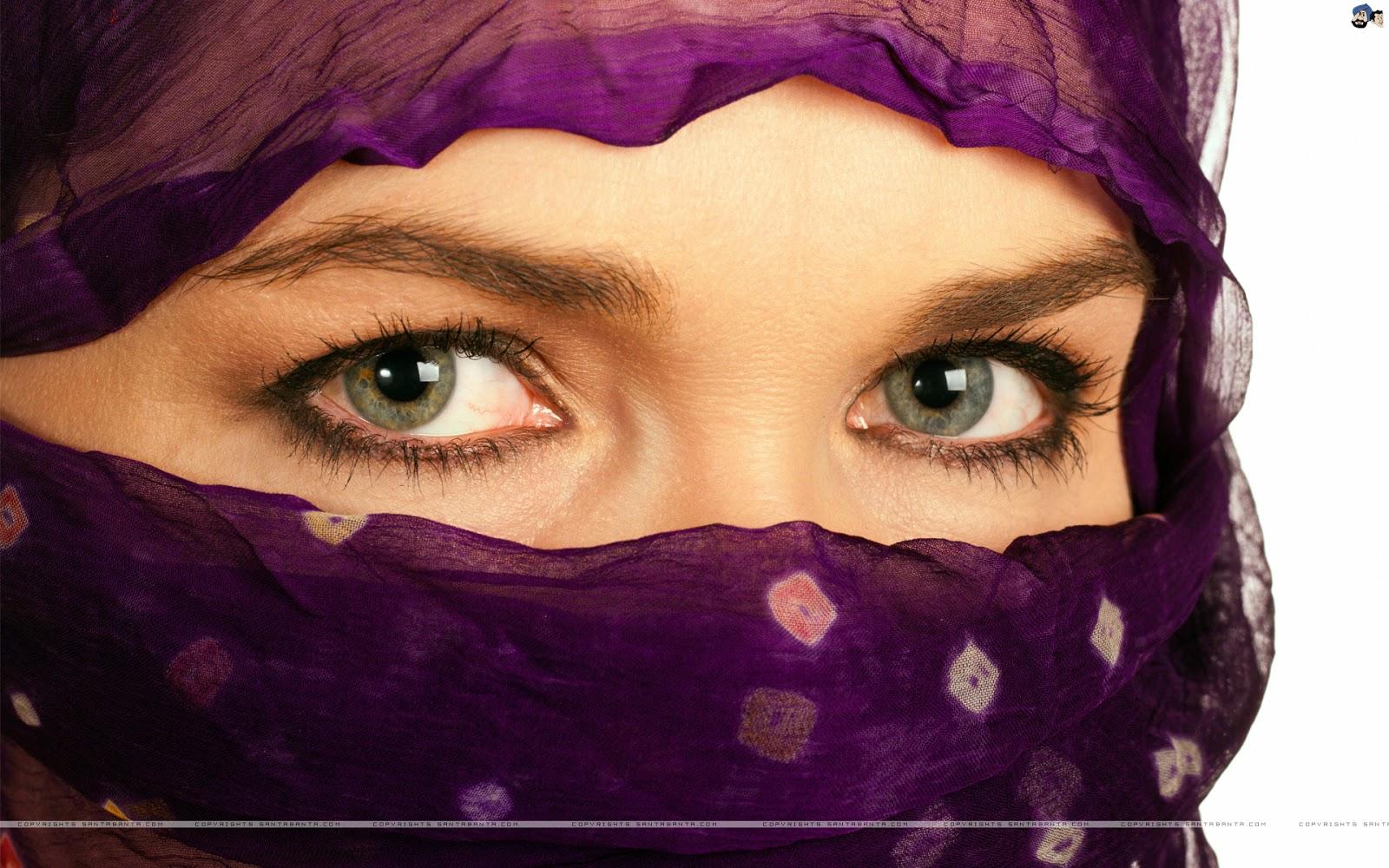 Foto Anime Cadar Koleksi Wallpaper Wanita Muslimah Bercadar Fauzi