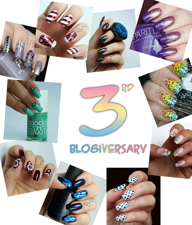 Lucy's Stash - 3rd blogiversary