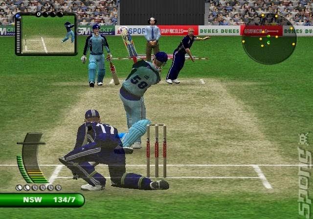 ea sports cricket game free  2007