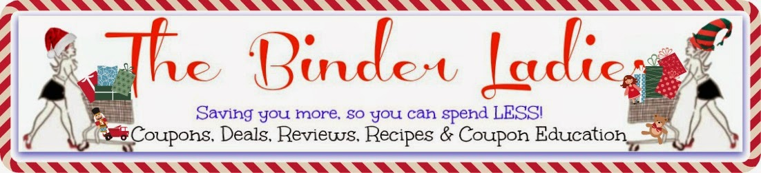 The Binder Ladies - Saving you more so you can spend less!  Reviews, Giveaways, Coupons & More!