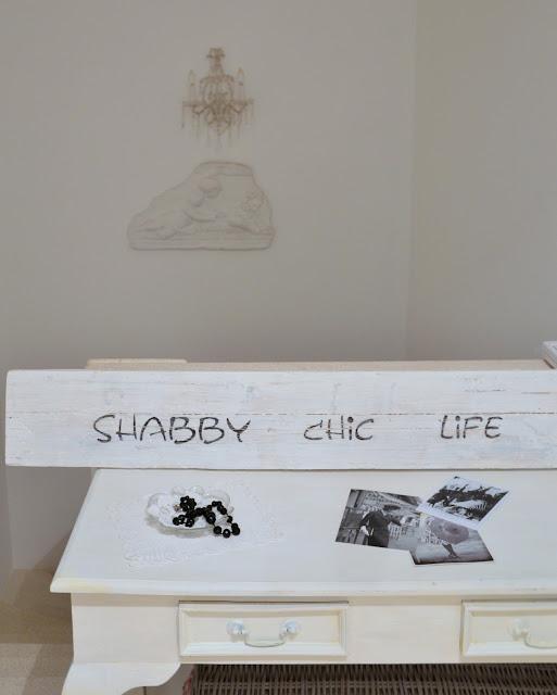 targa di legno shabby