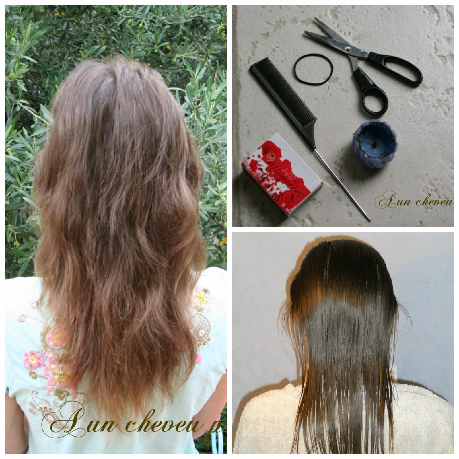 Degrade sur cheveux long soi meme