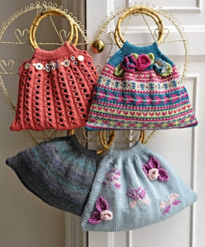Knitted Bags Free Patterns : Over 200 Free Knitted Bags, Purses and Totes Knitting Patterns