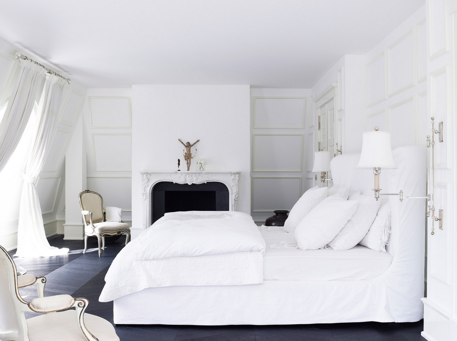 white bedrooms decorology clean and glamorous. beautiful ideas. Home Design Ideas