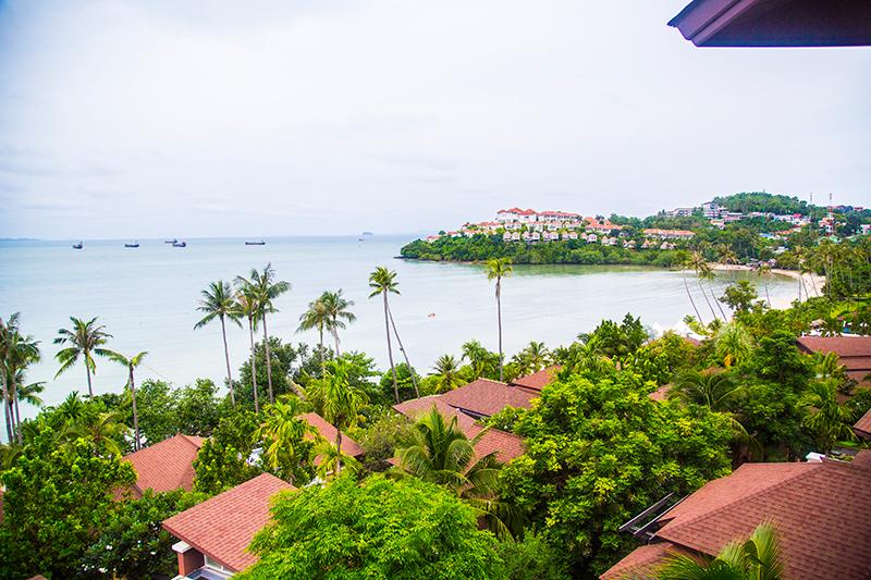 Panwa beach view from Radisson Blu Plaza Phuket hotel