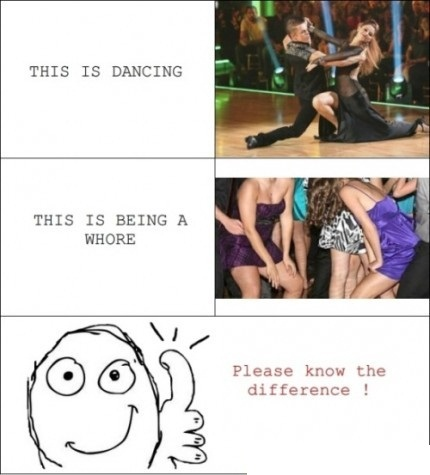 Real Dancing Vs Majority Of Girls At A Party