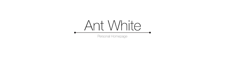 Ant White's Personal Homepage
