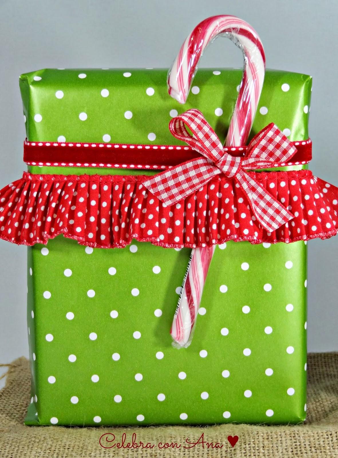 Celebra con ana compartiendo experiencias creativas de - Papel de regalo navidad ...