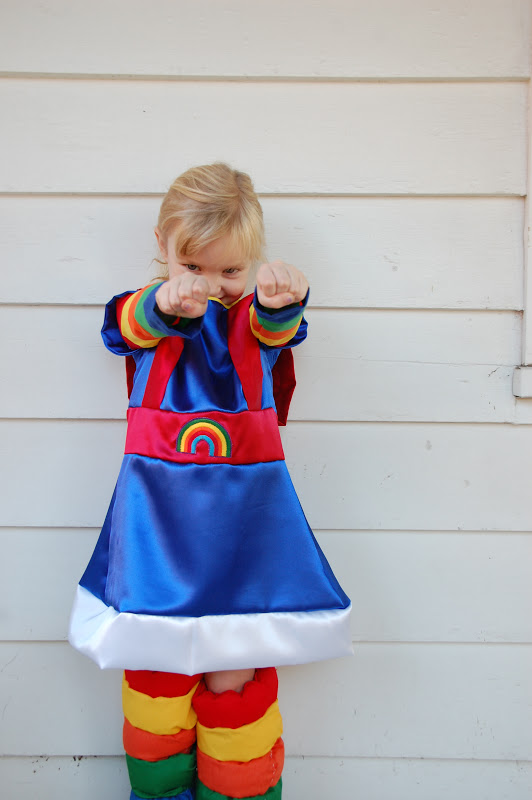 Halloween-Rainbow Brite Style : rainbow brite costume toddler  - Germanpascual.Com