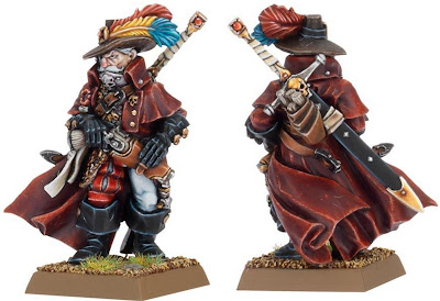 Witch Hunter Games Workshop model