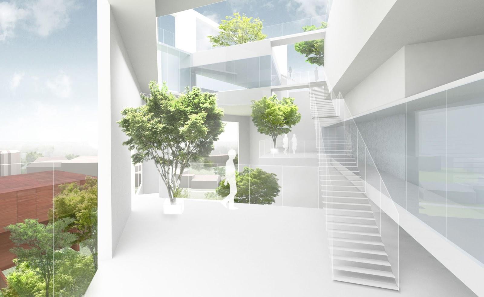 A f a s i a sou fujimoto for Interior design bielefeld