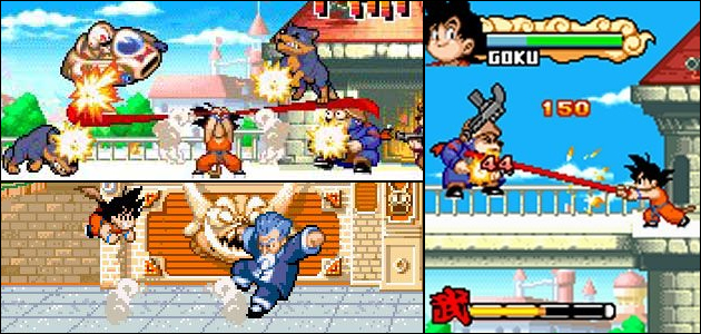 Gameplay de Dragon Ball Advanced Adventure (GBA)