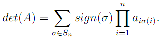 Linear Algebra: #14 Leibniz Formula equation pic 10