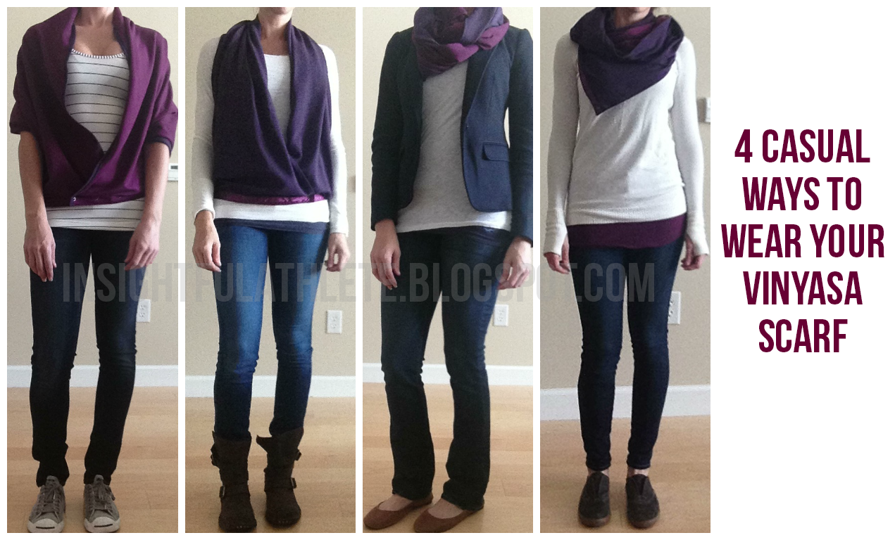 Buy Vinyasa lululemon scarf how to wear video pictures trends