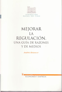 Libro: Mejorar la regulacin. Una gua de razones y de medios