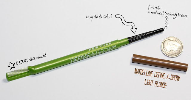 Manicurity | Beauty Byte: Maybelline Define-A-Brow Eyebrow Pencil in Light Blonde