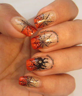Orly Bling China Glaze Riveting Halloween Nail Art HD04 Plate