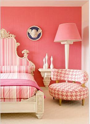Monochromatic Bedroom Decorating Ideas