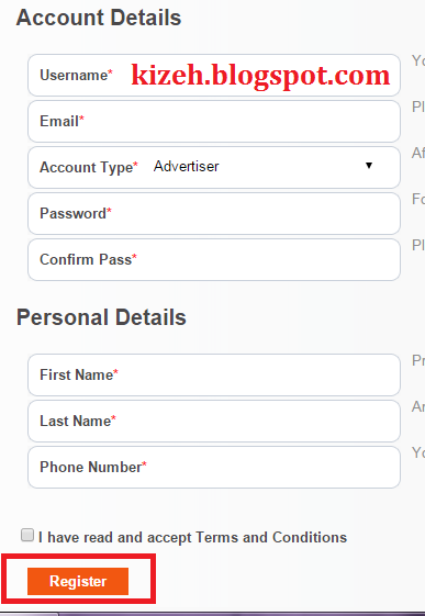 Cara mudah mendaftar PopAds.net