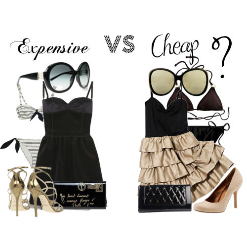 L a sweethearts expensive vs cheap Designer clothes discounted
