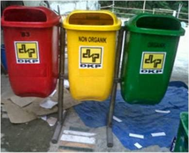 Tong Sampah PIlah 3 Oval 50 liter