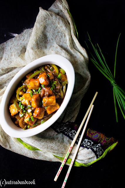 How to cook chilli paneer recipe