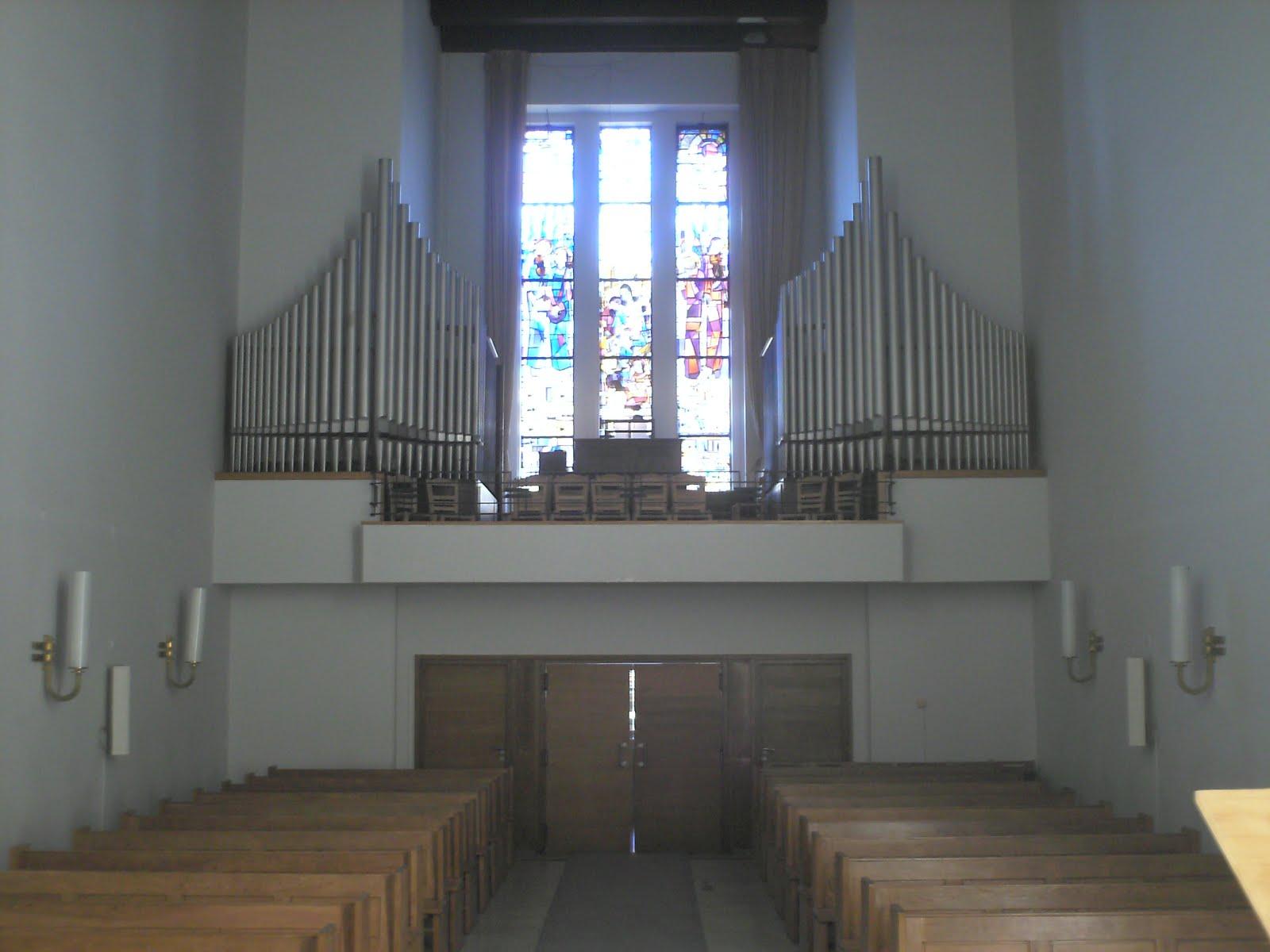 Εκκλησιαστικό όργανο Γερμανικής Εκκλησίας Αθηνών