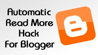 Auto Read More Hack With Thumbnail For Blogger