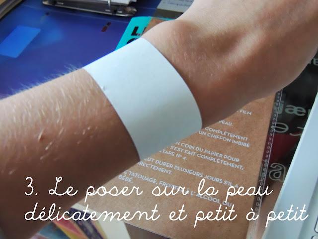 Sioou Créateur de Bijoux Éphémères Sioou - tatouage ephemere bracelet