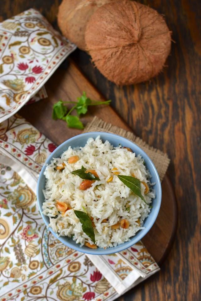 Sri Lankan Coconut Rice