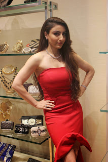 Soha Ali Khan in Red Top and Tight White Top at Launch Of Johnnie Walker The Step Up Digital Mentorship Program
