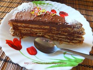"""Tort cu ciocolata pentru """"1 Decembrie"""""""