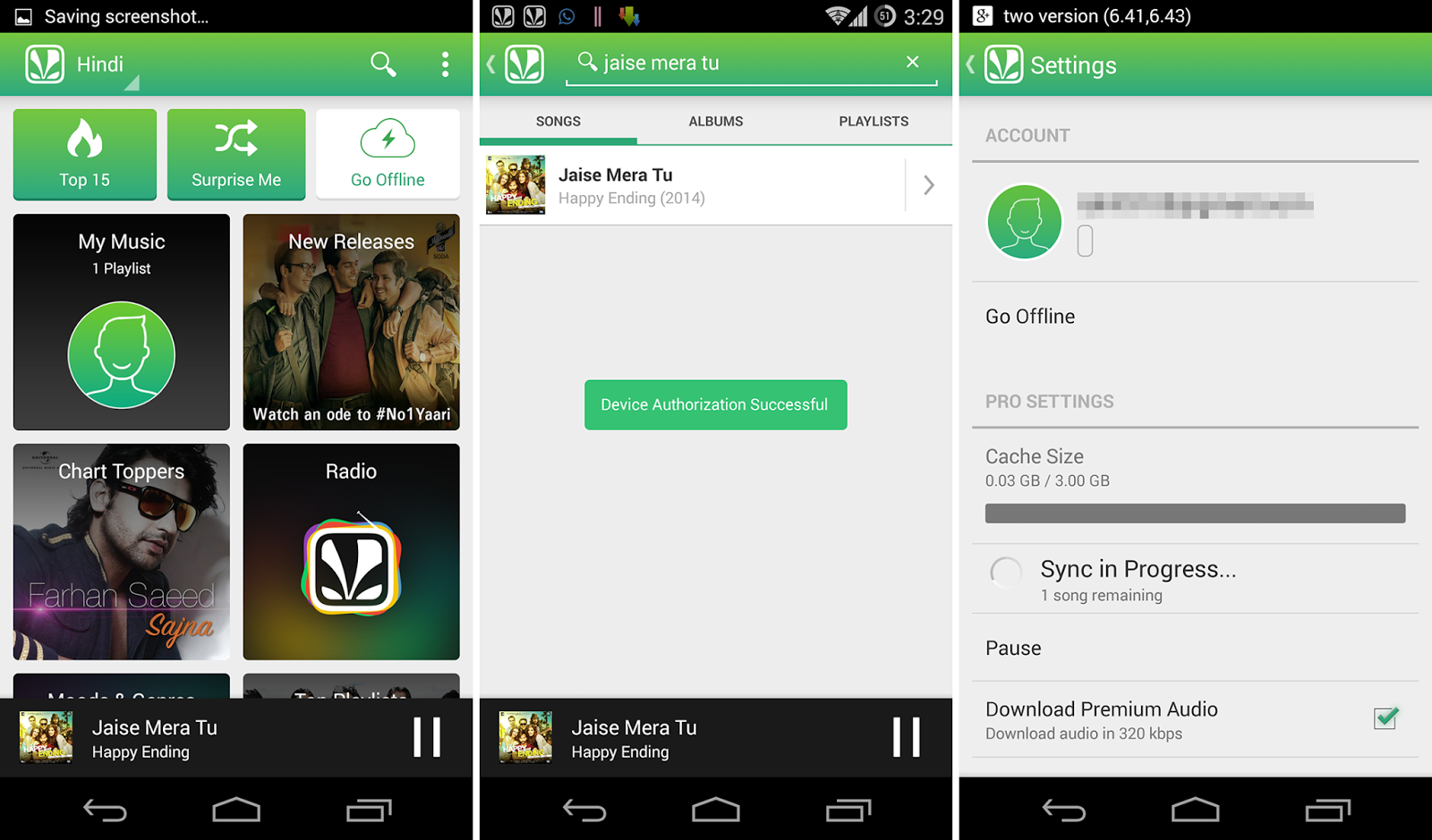Saavn Pro v3.2 Cracked Modded Patched Ad Free No Root Paid Lite Premium Download