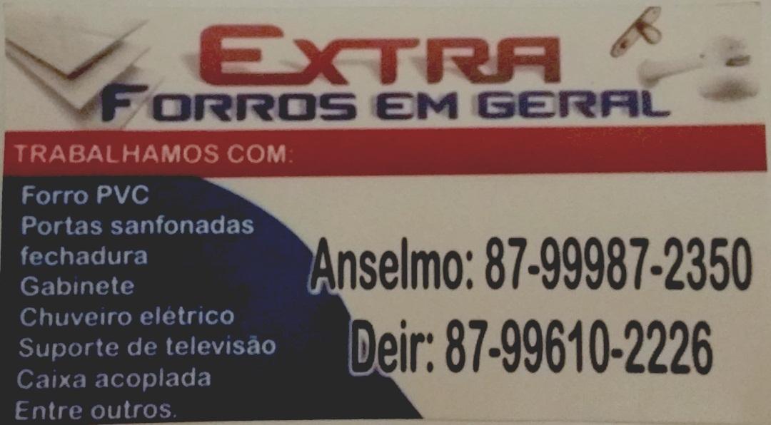 EXTRA FORROS EM GERAL EM TABIRA
