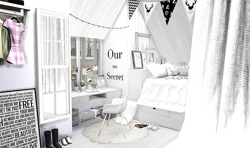 My Sims 4 Blog Scandinavian Living Room Recolors By Viikiita